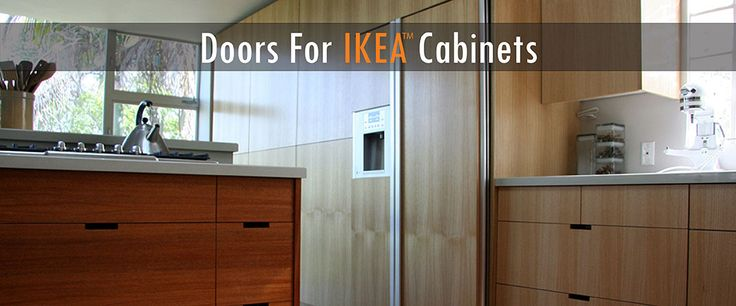 Way to do save money on refacing cabinets.  Ikea boxes, their handmade doors.  #budgetkitchens