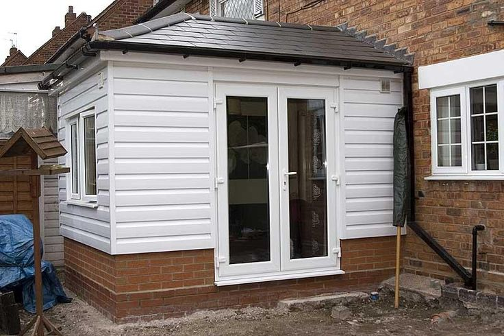 Upvc Clad Timber Framed Extension Diynot Forums Small