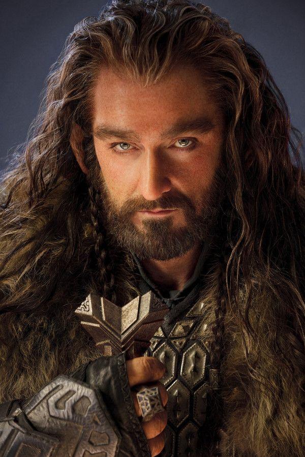 thorin  uit de film The Hobbit