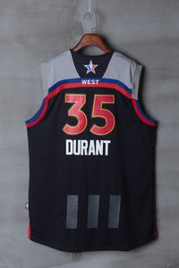 Adidas 2017 NBA All Star Oklahoma City Thunder 35 DURANT Jerseys