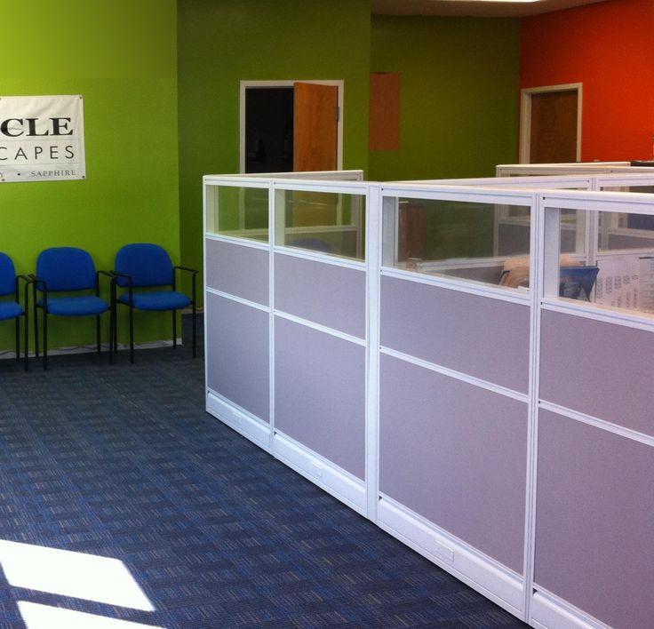 Office Cubicle Door. Wonderful Office Office Cube Door Short Walls With  Glass Partition Pinterest Shortsittoimistot