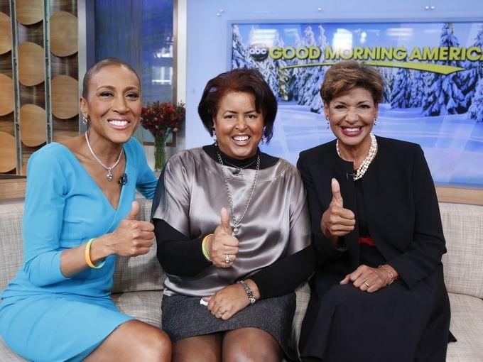 Robin Roberts returns to GMA 2/20/2013