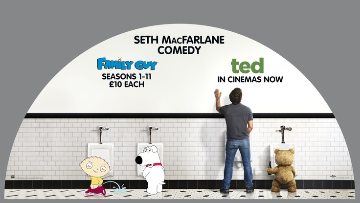 Family Guy And Ted Seth Macfarlane S Toilet Humour Knows