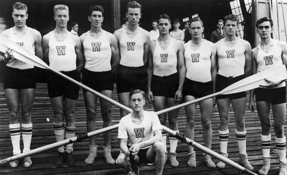 Six Minutes in Berlin |  In 1936, nine American rowers took on the Nazis in front of Hitler and 75,000 screaming Germans. The story of the greatest Olympic race you've never heard of.