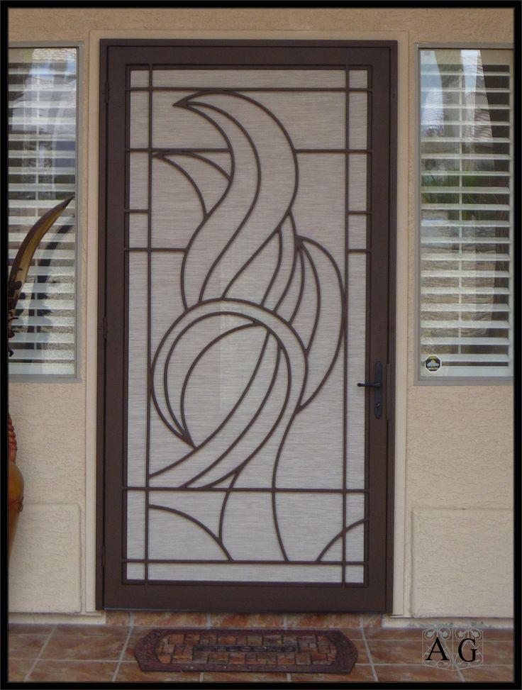 16 best images about window door security screens on for Best screen doors home