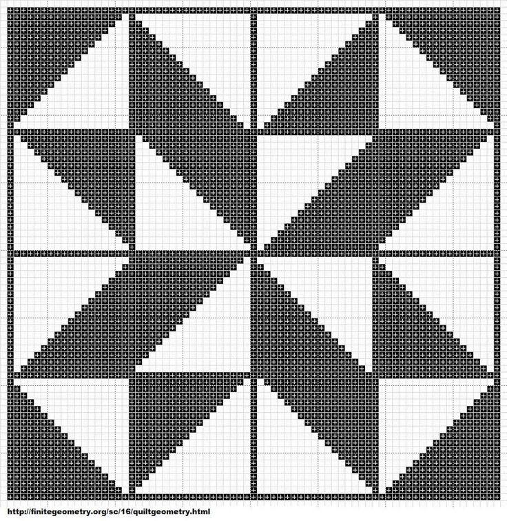 Free Cross Stitch Geometric Pattern 12 by ~carand88 on deviantART