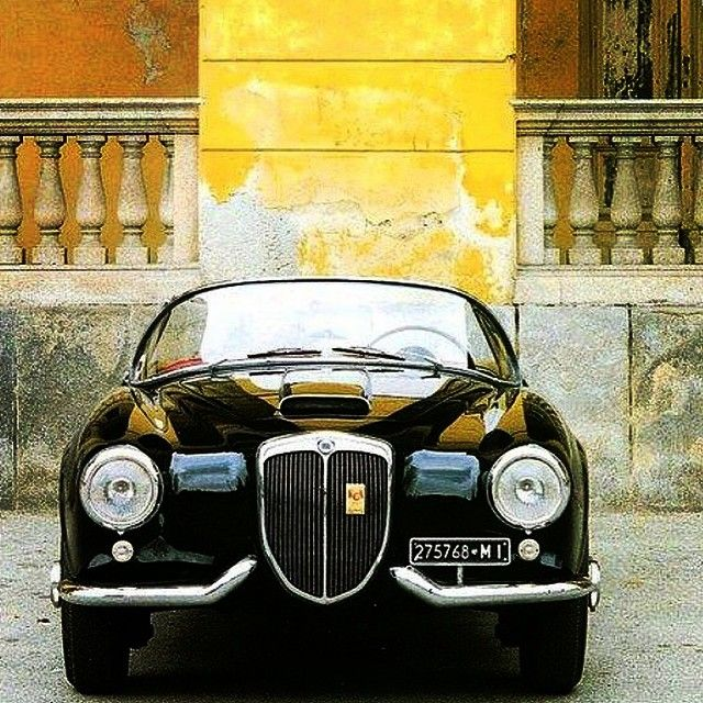 This Lancia is a dream. Lancia Aurelia B24 America spyder. Circa 1950s. Designed by Pininfarina. Have a great Sunday! Credit: unknown via @italiangentlemen #lancia #aurelia #pininfarina #italy @jetcetter by le_monde_edmond http://ift.tt/1EYdgrI