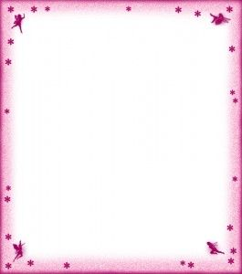 Free Printable Pretty Pink Fairy Notepaper Addies 3rd Birthday