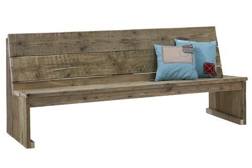 25 beste idee n over houten pallet bank op pinterest for Houten bankje steigerhout
