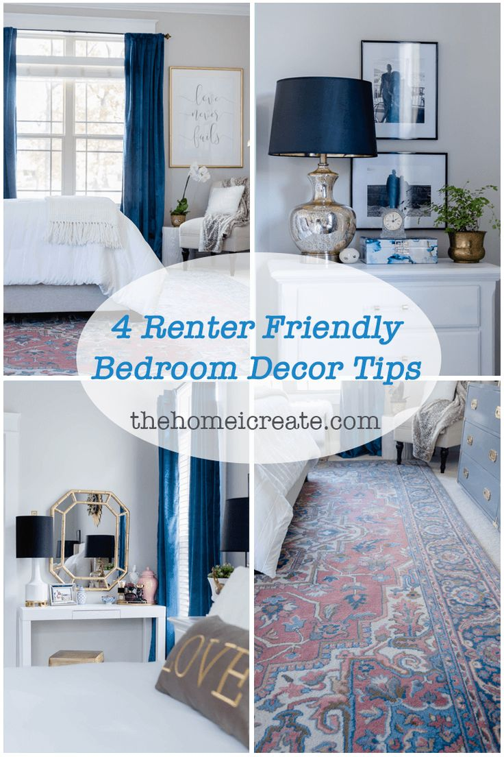 Rental Home Decorating Ideas: The Best Renter Hacks For Your Bedroom