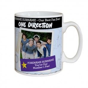 personalised one direction gift