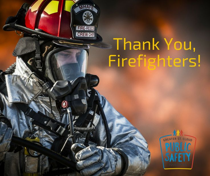 May 4th is National Firefighter's Day! We celebrate by thanking our police department for all that they do.