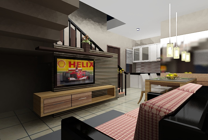 2 nd Floor- Family Room    Read Our Blog http://ambong.com/Blog/review/membeli-rumah-dengan-panorama-perbukitan-yang-berhawa-sejuk-dan-tidak-jauh-dari-pusat-kota-2/