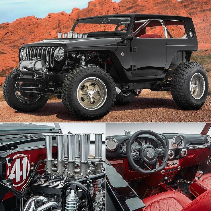 Jeep Quicksand Concept: Hot Rod com motor V8 As marcas Jeep e Mopar se juntaram mais uma vez para desenvolver uma nova safra de veículos especiais para o Easter Jeep Safari. Realizado no deserto do Moab Utah de 8 a 16 de abril. Em seu 51º ano reúne demilhares de entusiastas de off-road.  Criado para os entusiastas que amam a vida na areia o Quicksand (areia movediça em inglês) é um Jeep hot rod barulhento rápido e divertido. Por isso o motor é um V8 HEMI Mopar 392 (64 litros) combinado a um…
