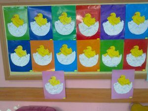 free hatching chick craft for kids