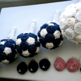 My wedding bouquets