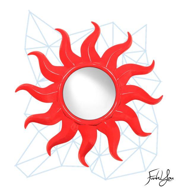 Solaris Mirror Red.  www.funkyou.com.au