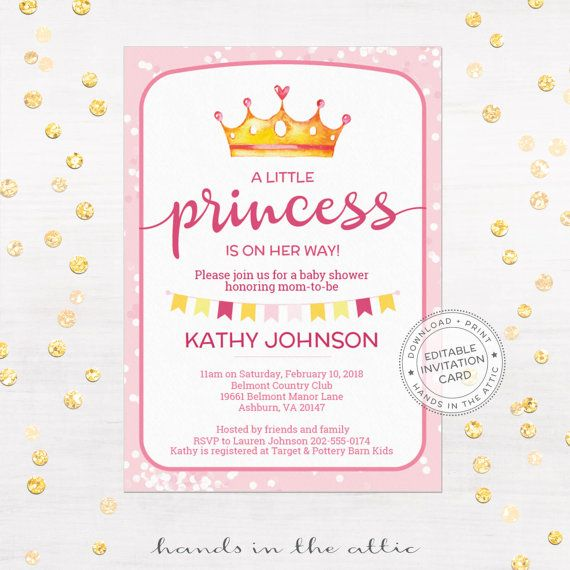 51 best Instant Baby Shower Invites \ Cards images on Pinterest - baby shower invitation templates for word