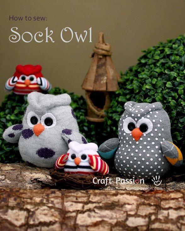 Gooi+je+oude+sokken+niet+weg!+12+zelfmaak+ideetjes+met+oude+sokken+die+om+op+te+eten+zijn!