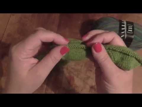 Kurz pletení ponožek na jedné kruhové jehlici od špičky (4. díl) Knitting socks - YouTube
