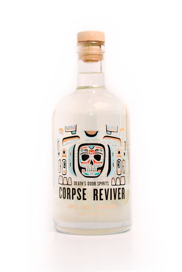 ... Drinks Creatively Packaged As 'Corpse Revivers' - DesignTAXI.com