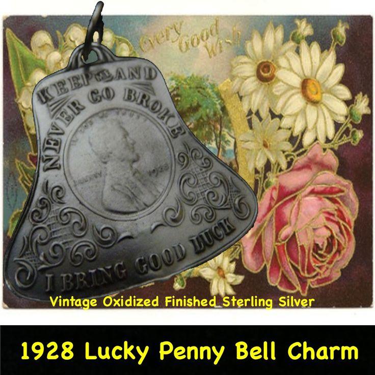 "1928 Washington DC ""Lucky Penny"" Bell"