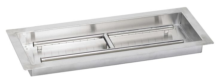 American Fireglass Stainless Steel Natural Gas / Propane Fire Pit & Reviews | Wayfair.ca