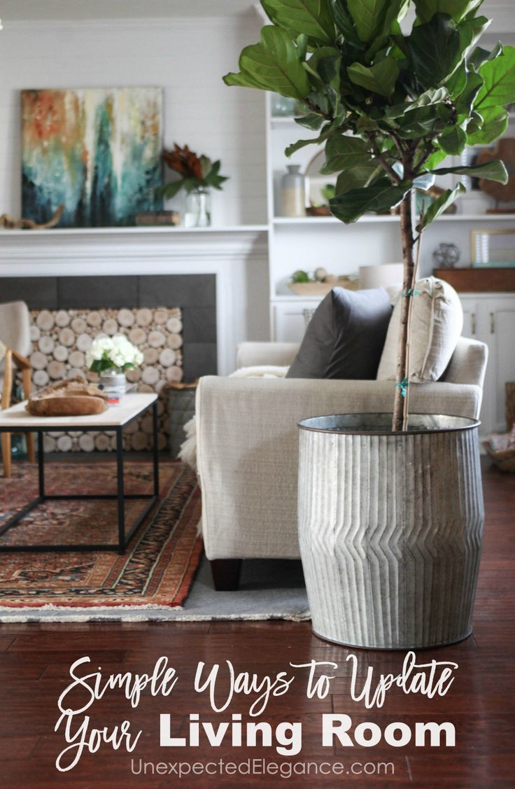 Does Your Living Room Need Some Sprucing Up Check Out These Simple Ways To Update