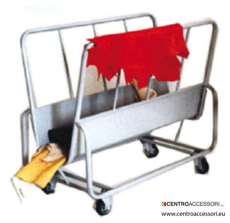 Carrello porta gropponi. Trolley for back #CentroAccessori