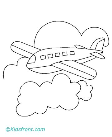 Aeroplane Coloring Pages Printable
