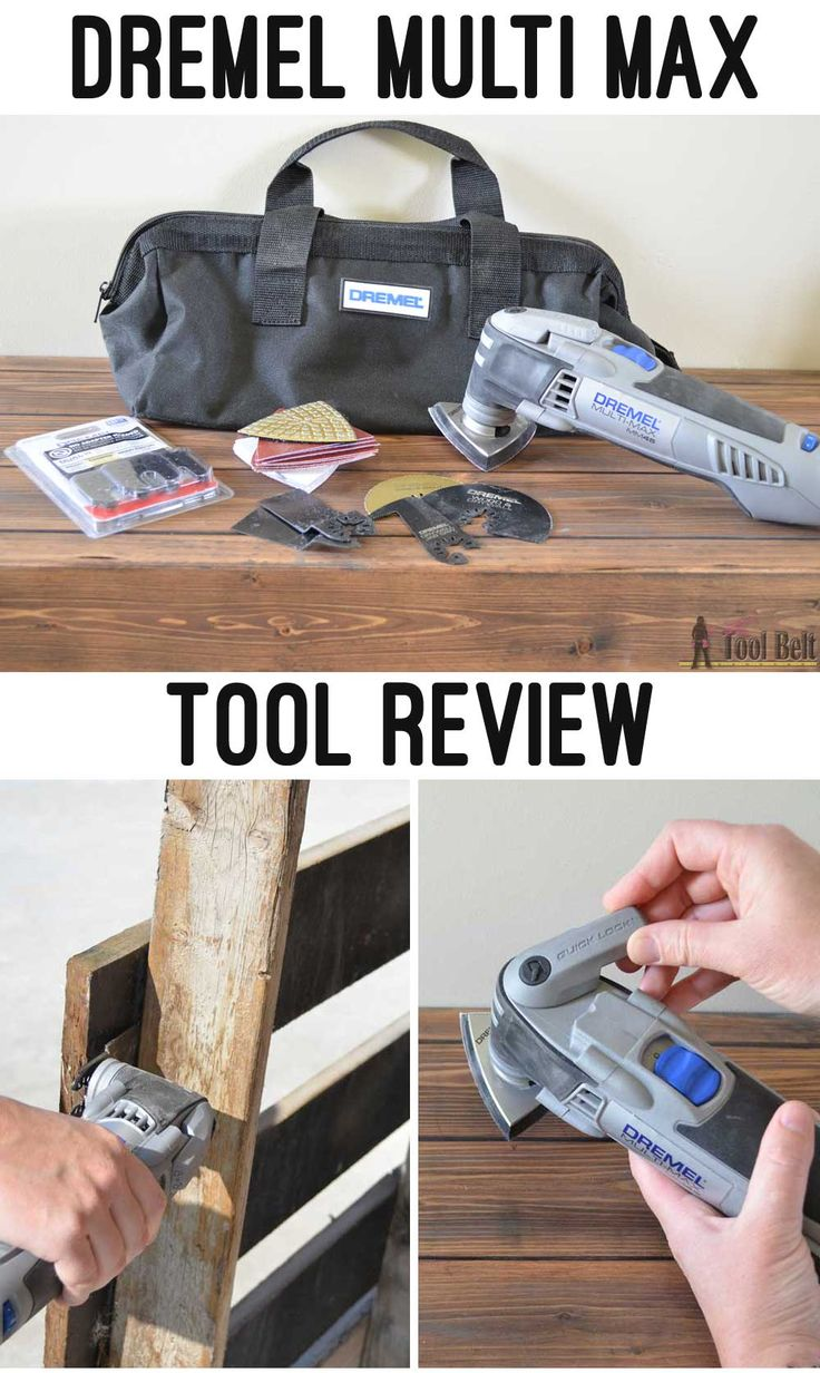 Diy hot hair tool storage remodelaholic com haircarestorage - Dremel Mm45 Oscillating Tool Review And Universal Cut Blades