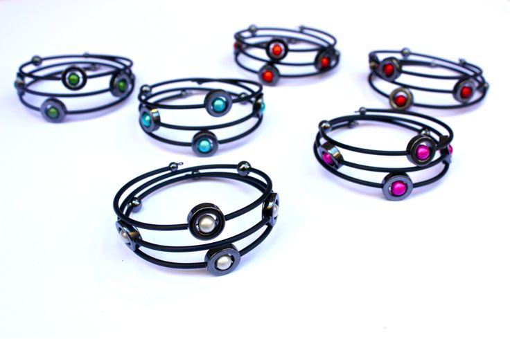 Stunning Caramelle bracelets.