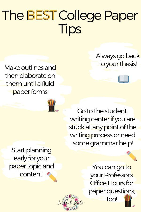 How To Write An Amazing College Paper College Paper Guide  Check Out This College Advice For How To Write The Best College Essays  Stay On Track Of Your Assignments And Get Ahead On Your Work By Using This  College  Essay For High School Application also Reflective Essay Sample Paper  How To Make A Thesis Statement For An Essay