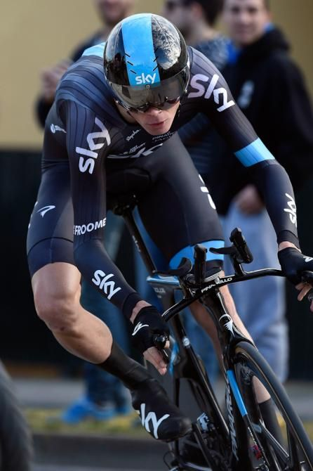 Not the best day at the office for Froomey after the ITT at the Ruta del Sol