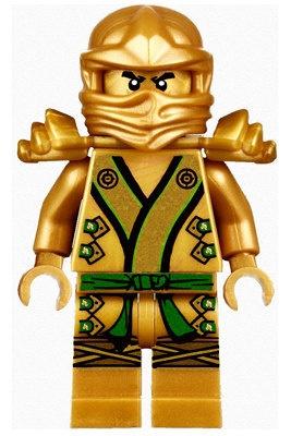 Lego Ninjago Gold Ninja Lloyd BIG Peel by LampShadesandThings, $32.00