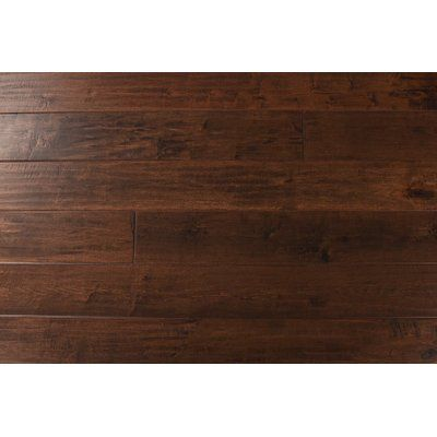 Montserrat Maple 1 2 Thick X 7 1 2 Wide X Varying Length Water Resistant Solid Hardwood Flooring Hardwood Floors Hardwood Engineered Hardwood Flooring