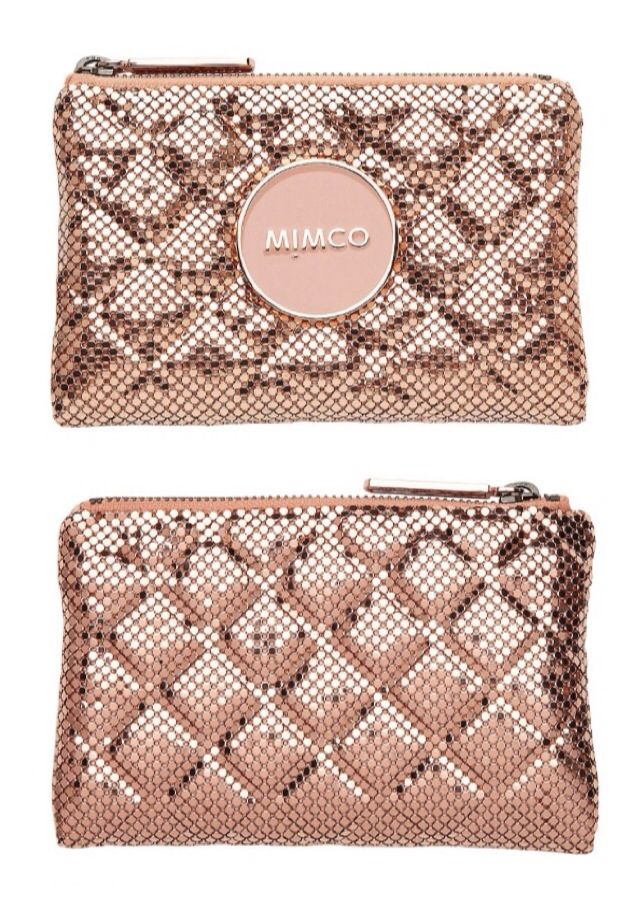 #Mimco Metal Rose Pink Clutch - #Luxurydotcom