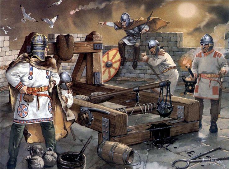 Late Roman artillery at the Saxon shore