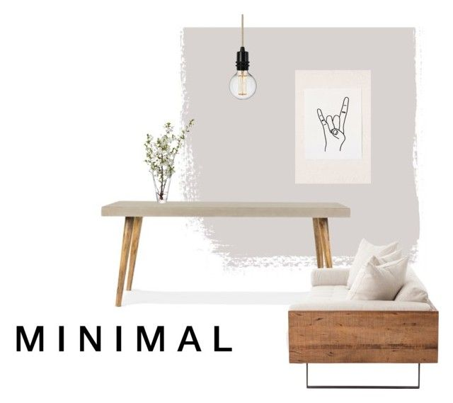 """""""M I N I M A L"""" by tarekzg on Polyvore featuring interior, interiors, interior design, hogar, home decor, interior decorating, LSA International y Urban Outfitters"""