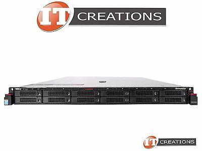 LENOVO THINKSERVER RD550 TWO E5-2650LV3 1.8GHZ 192GB 9 X 300GB 10K SAS