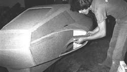 One-Off Construction Using Fiberglass Over Foam