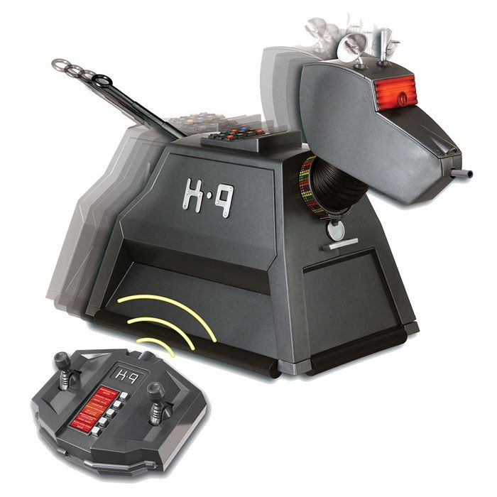 Doctor Who Radio Controlled K-9 Mark II Remote Dog Movements, Sounds Lights K9 Official Product BBC Dr   Yellow Octopus