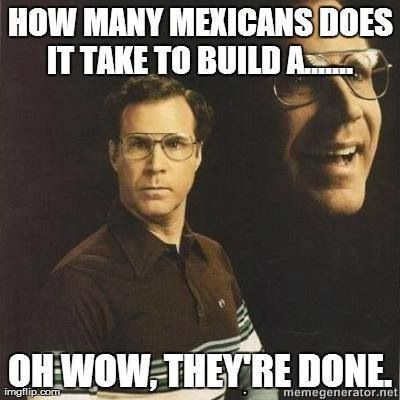 Haha! Love being Mexican