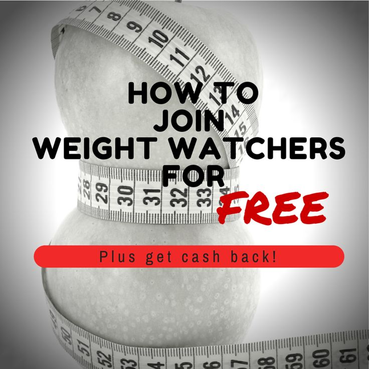 Here's You can join weight watchers for free until 2/14/15 plus get a $10 gift card and $5 cash back.
