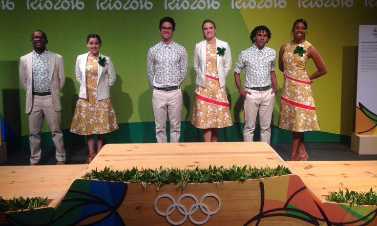Olimpíadas 2016: divulgados uniformes da equipe de entrega de medalhas
