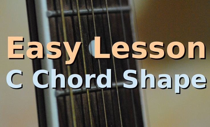 How to play c major chord one chord easy beginners