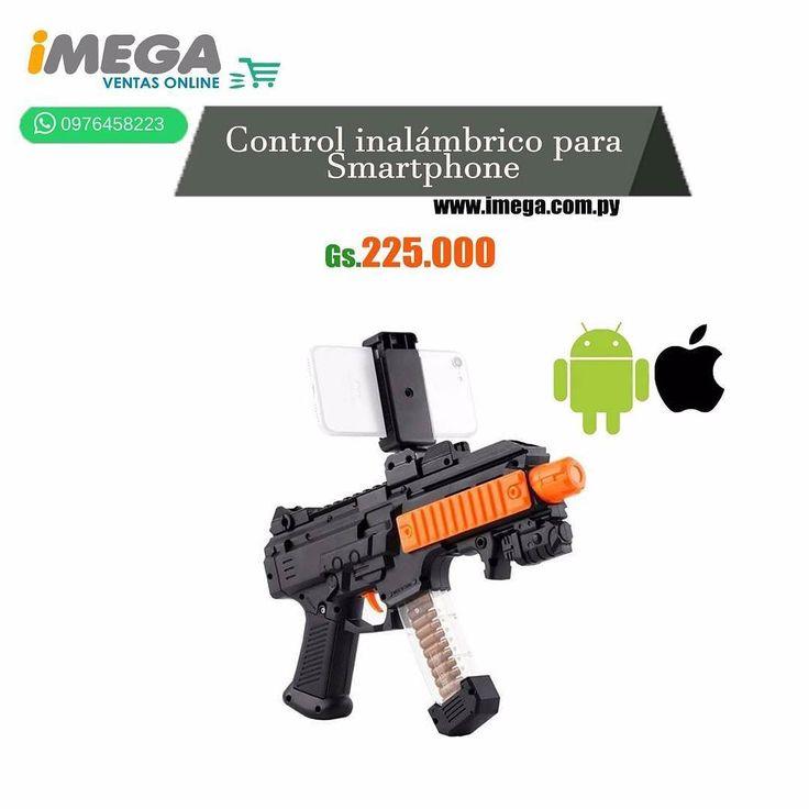 El Control de Juego modelo DZ-822 de AR Game Gun fue desarrollado para hacer los juegos más divertidos e inmersivos. Permite convertir el smartphone compatible en fuente de entretenimiento y aventura. Funciona con pilas AA y viene con Bluetooth integrado. #celular #accesorios #juegos #bluetooth #inalámbrico #diversion #Joystick #calidad #original #android #iOs #AR Game Gun #TiendaOnLine #Imegapy  Visítanos en nuestra página web www.imega.com.py  Gs. 225.000