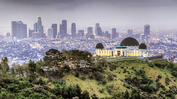Hiking in Los Angeles: LA's Best Trails | Discover Los Angeles--Griffith Park Observatory to downtown view