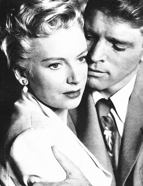 Deborah Kerr and Burt Lancaster, 1953, in a publicity shot for From Here to Eternity