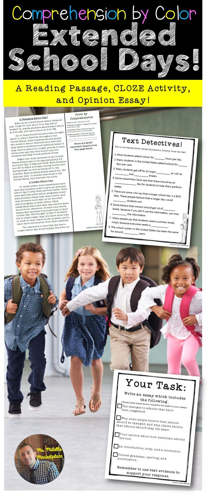 shorter school days essay The negative effects of extending school days essay - many schools in america today are considering in having a longer schedule vacations are shortened resulting in shorter family bonding time high school students would have conflicts with summer jobs [tags: extended school.